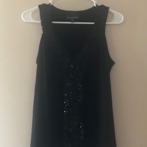 Black Sequin Tunic
